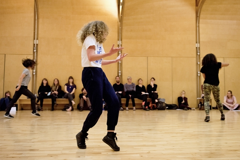 Solo Variations by Romany Dear Credit:  photo by Camilla Greenwell, courtesy Siobhan Davies Dance and Stills Edinburgh