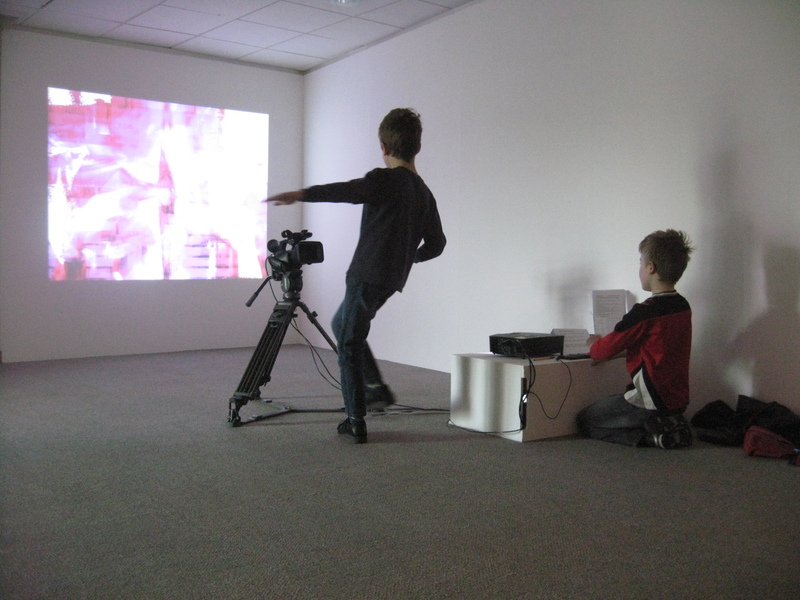 EVE - Interactive Dance Installation as part of Decoding Exhibition at Hannah Mclure Centre - 2015