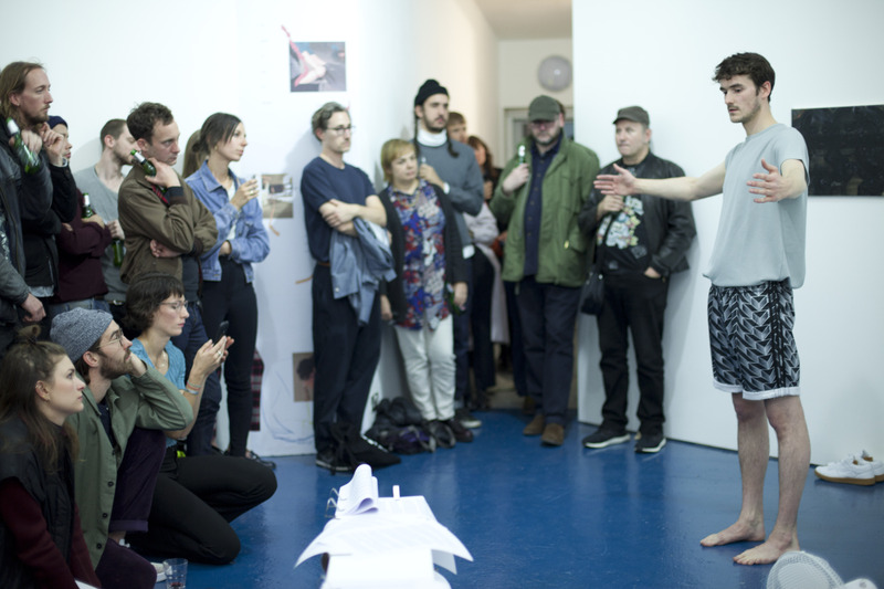 Collisions. Colliding. performed at Kingsgate Projects. Credit: Claricia Kruithof