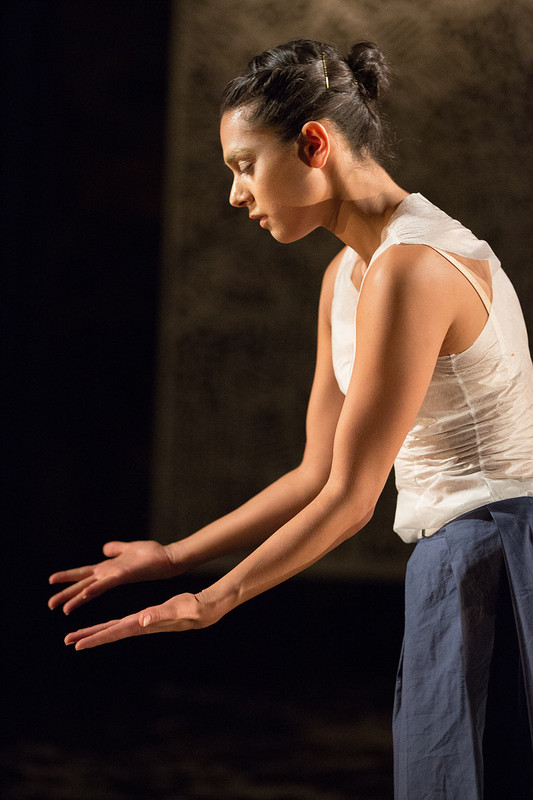 'Fragile Paper' choreography Katie Milroy Credit: Photo by Sid Scott