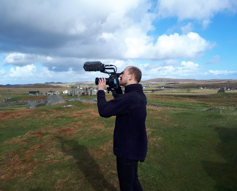 Filming on Isle of Lewis Credit: Scott Glanville