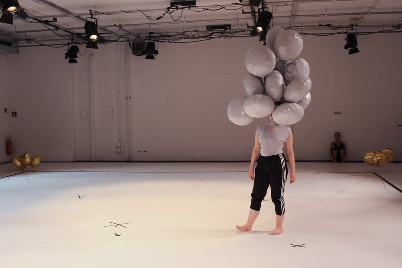 Aby Watson in Tramway's Studio