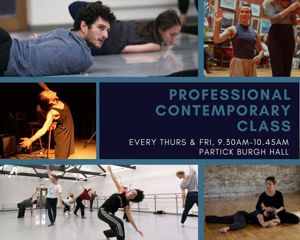 Professional Contemporary Class in Jan & Feb 20