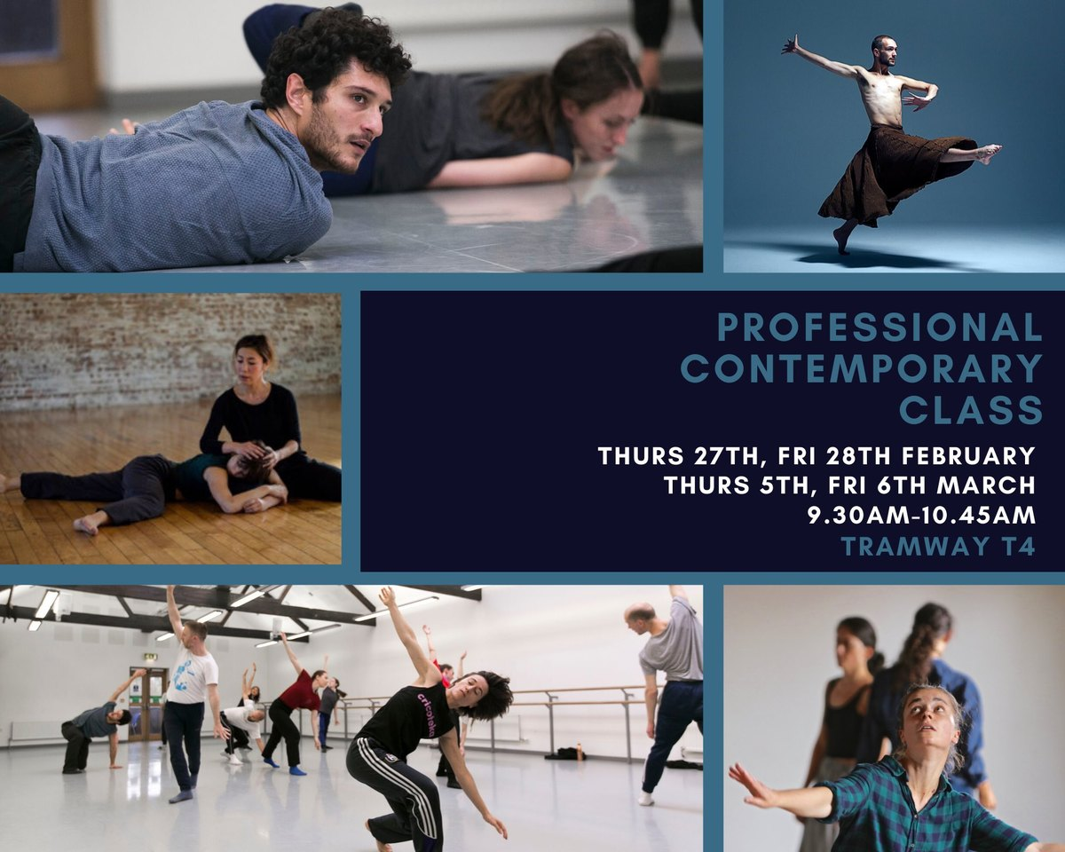 Professional Contemporary Class in Feb & March 20