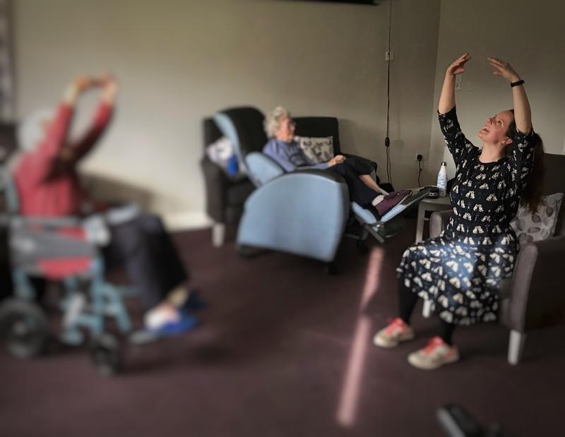 Teaching at Dumbarton Care Home