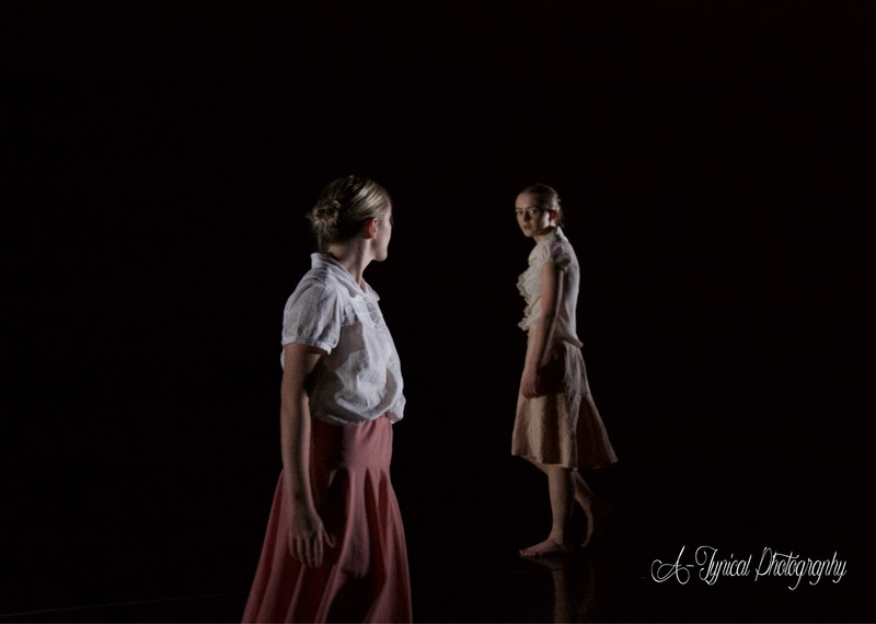 'Don't Blame My' by Ruth Carlin, The Space - with Nicola McFall Credit: Atypical Photography