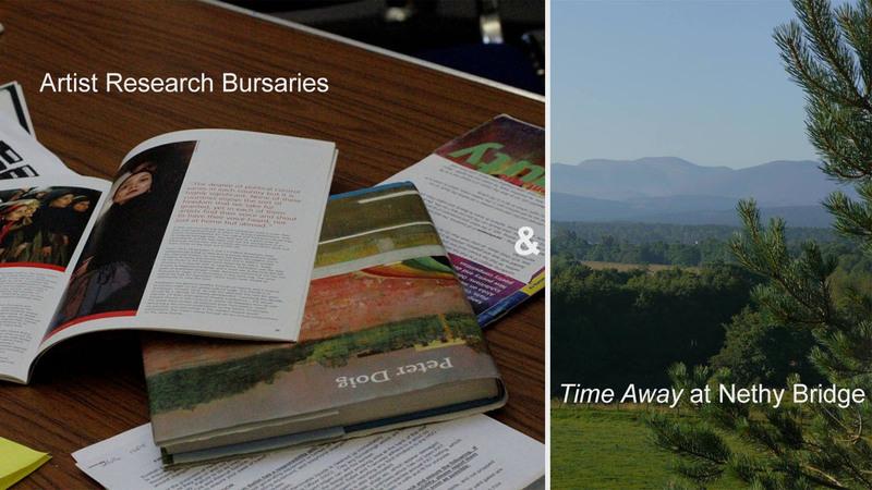 Jian Yi - Artist Research Bursary & Time Away